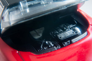 1/64 Tomica Limited Vintage Honda NSX Red with opening engine bay