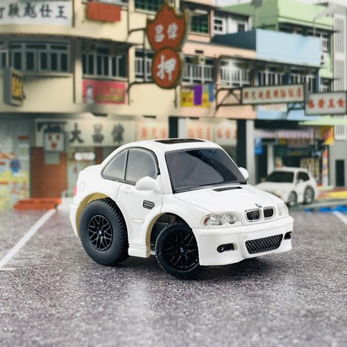 TinyQ BMW M3 (E46) Alpine White with Display Case