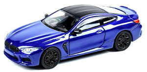 (Pre Order) 1:64 PARA 64 BMW M8 Coupe Marina Bay Blue Metallic LHD