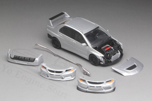 Y.E.S. 1/64 Mitsubishi Lancer Evolution IX (with display case, turn table)