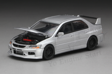 Load image into Gallery viewer, (Pre Order) Y.E.S. 1/64 Mitsubishi Lancer Evolution IX (with display case, turn table)