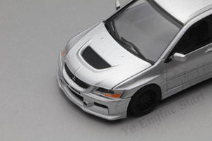 (Pre Order) Y.E.S. 1/64 Mitsubishi Lancer Evolution IX (with display case, turn table)