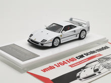 Load image into Gallery viewer, VMB 1/64 Ferrari F40 White US SPEC version diecast