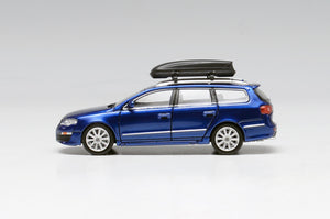 (Pre Order) Volkswagen 1:64 Passat R36 wagon with Roof Box Official model diecast