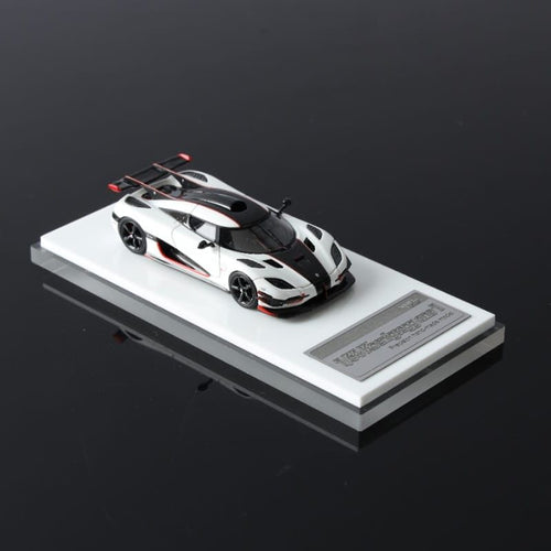 VMB 1:64 Koenigsegg Agera One:1 White Resin model