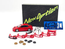 Load image into Gallery viewer, (Pre Order) Y.E.S. Accessories for 1/64 Mitsubishi Lancer Evolution IX Red Set #3