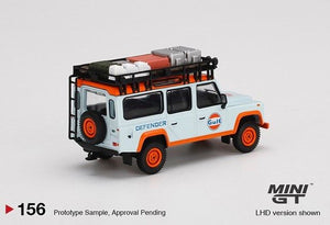 (Pre Order) MiniGT 1/64 Land Rover Defender 110 Gulf Livery Limited Edition Mijo Exclusive
