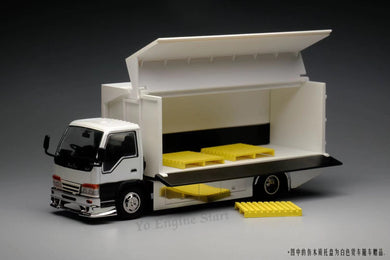 Y.E.S. 1/64 Isuzu Japan Cargo Truck with accessories Limited Edition 1000pcs