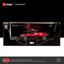Load image into Gallery viewer, (Pre Order) Time Model 1:64 Bugatti Divo Red diecast