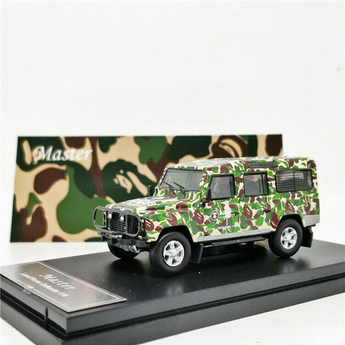 Master 1:64 Land Rover Defender Aape Camo