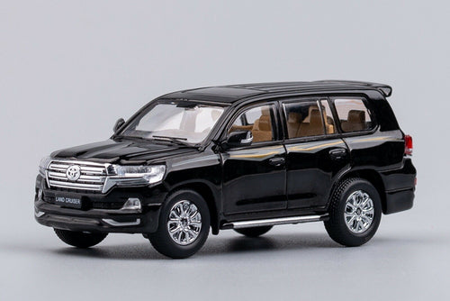GCD 1/64 Toyota Land Cruiser Black