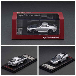 Ignition Model 1/64 Toyota Supra (JZA80) RZ Silver