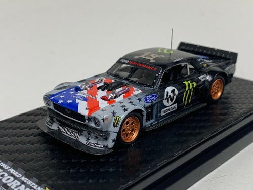 YM Model 1/64 1965 Ford Mustang Ken Block's Hoonigan Monster USA