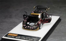 Load image into Gallery viewer, (Pre order) PGM 1:64 Porsche 911 930 RWB Black Sakura Diecast Limited Edition