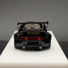 Load image into Gallery viewer, VIP 1:64 Scale Porsche 911 993 RWB Q Car Black Car Model Limited Edition