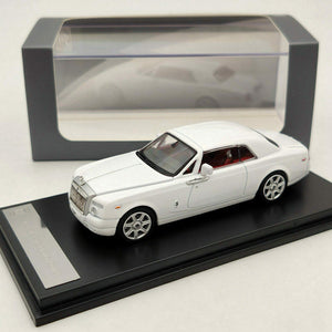 1:64 Rolls Royce Phantom Coupe White Diecast model