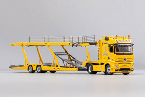 GCD 1/64 Mercedes Benz Actros with Trailer Yellow
