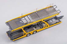 Load image into Gallery viewer, GCD 1/64 Mercedes Benz Actros with Trailer Yellow