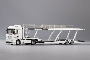 GCD 1/64 Mercedes Benz Actros with Trailer White