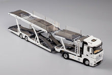 Load image into Gallery viewer, GCD 1/64 Mercedes Benz Actros with Trailer White