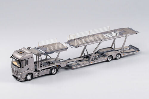 GCD 1/64 Mercedes Benz Actros with Trailer Grey