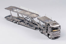 Load image into Gallery viewer, GCD 1/64 Mercedes Benz Actros with Trailer Grey
