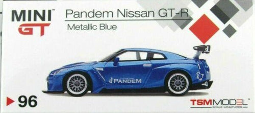 MiniGT 1/64 2020 Japan Exclusive RHD PANDEM Metallic Blue NISSAN GT-R R35