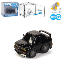 Load image into Gallery viewer, TinyQ BMW M3 (E30) Black with Display Case