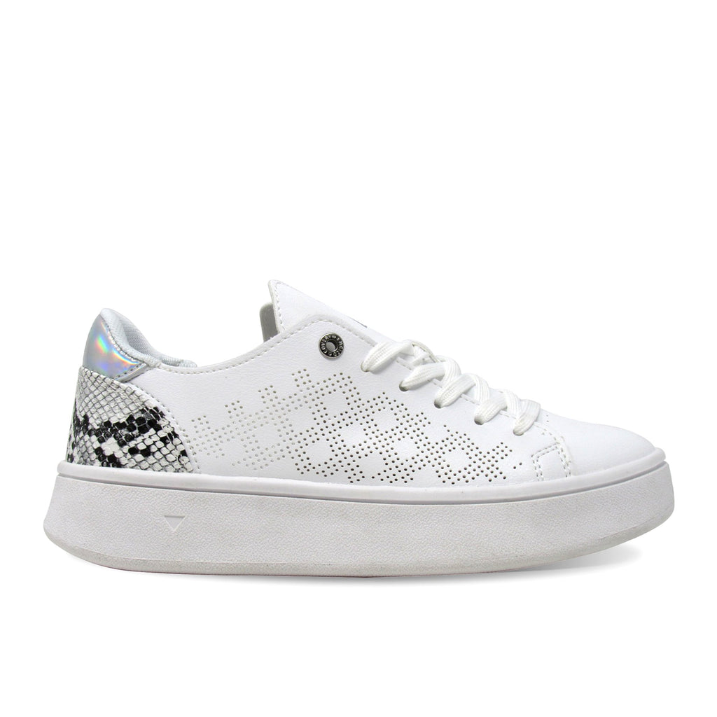 Enrico Coveri Tita Pu Mirror - holographic panel Fashion Sneakers Classic Shoes