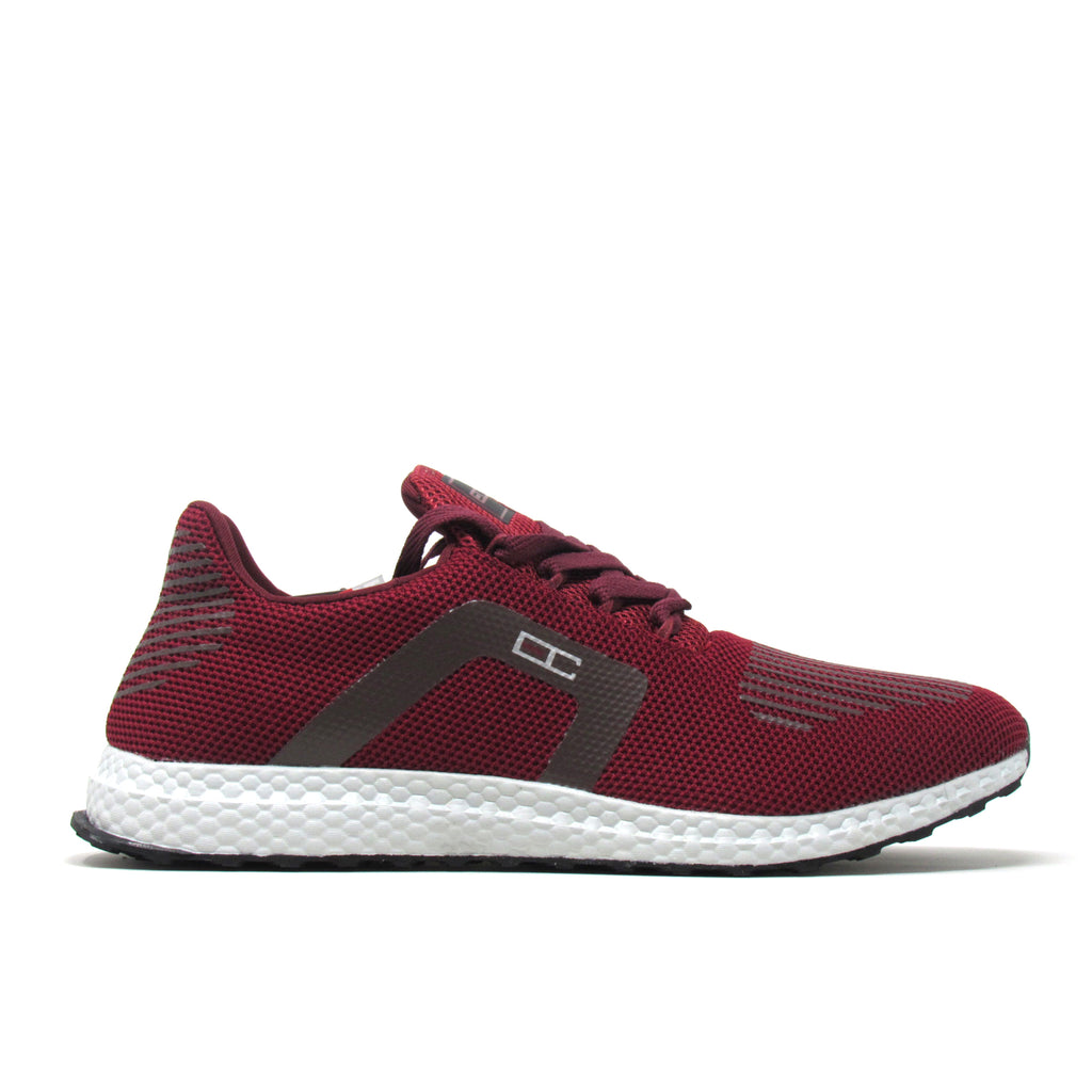 Enrico Coveri Men SURIN Wine Red Italian Fashion Casual Running Sneakers Shoes