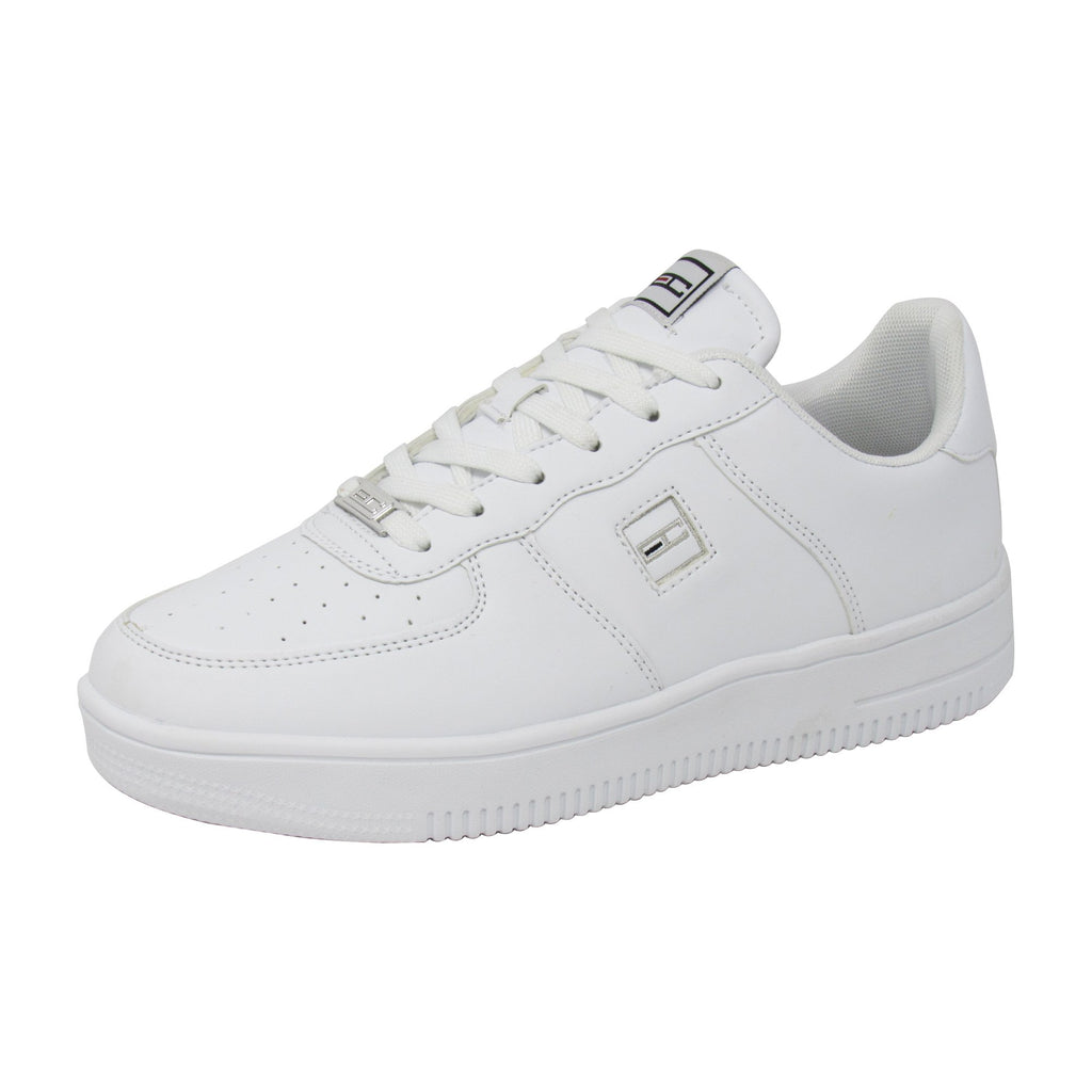 Enrico Coveri Men Italian Fashion Force LTH Casual Sneakers Shoes White