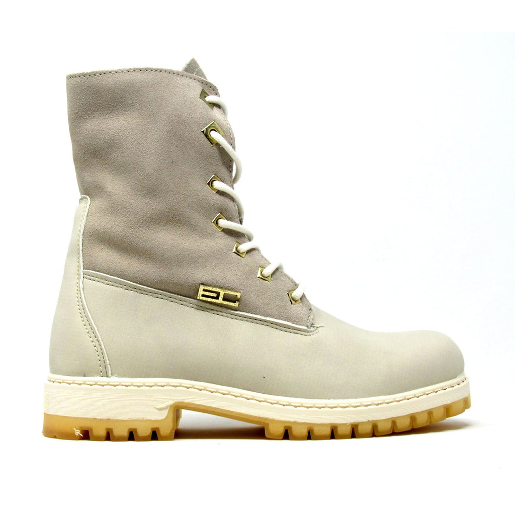 Cambridge High NBK SD  - Lace up closure fashion Boots