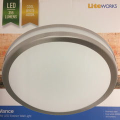 LED VANCE STAINLESS STEEL EXTERIOR LIGHT