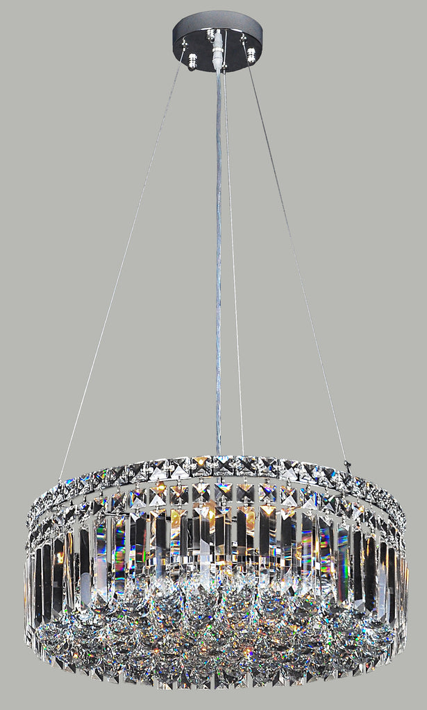 finish amazon drum pendant kitchen chandelier home ae with beaded light chromed crystal mirrea shade lights dp ca