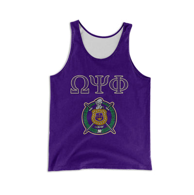 3D ALL OVER OMEGA PSI PHI SHIRT 1606020201
