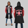 DELTA SIGMA THETA HOODED COAT