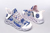 Zeta Phi Beta White Clunky Sneakers 1