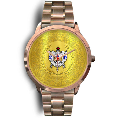 sigma gamma rho rose gold watch