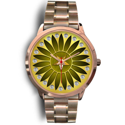 Oes rose gold watch