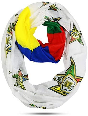 The Masonic Depot Order of the Eastern Star Oversized Lightweight Infinity Scarf