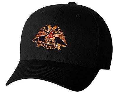 Scottish Rite 32nd Degree ADJUSTABLE 3D EMBROIDERY BASEBALL CAP HAT