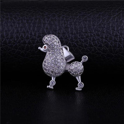 Jewelry Supplies Gold/Silver/Rose Gold Sigma Gamma Rho Poodle Charm Pendant Necklace