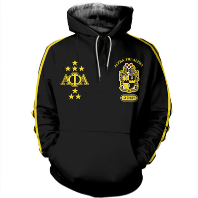 3D ALL OVER ALPHA PHI ALPHA HOODIE 22720191