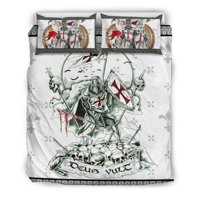 knight templar bedding set