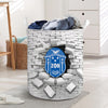 Zeta Phi Beta laundry Basket