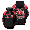 3D ALL OVER DELTA SIGMA THETA HOODIE 2972019