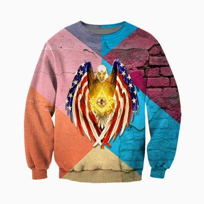 3D ALL OVER FREEMASONRY CLOTHES 13320194