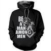 3D ALL OVER FREEMASONRY HOODIE 21620191