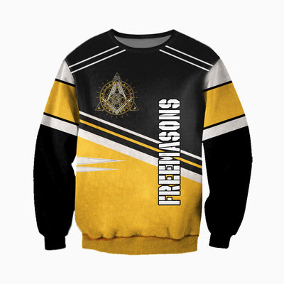 3D ALL OVER FREEMASONRY CLOTHES 662019