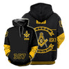 3D ALL OVER FREEMASONRY HOODIE 26620191